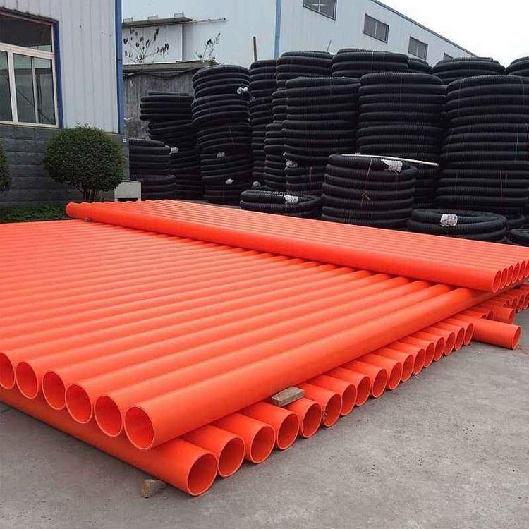 四川厂家直销MPP电力电缆保护管 防腐耐高温电缆穿线管可定制