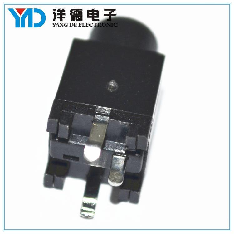 洋德供应贴片耳机插座 电源耳机插座 加工定制