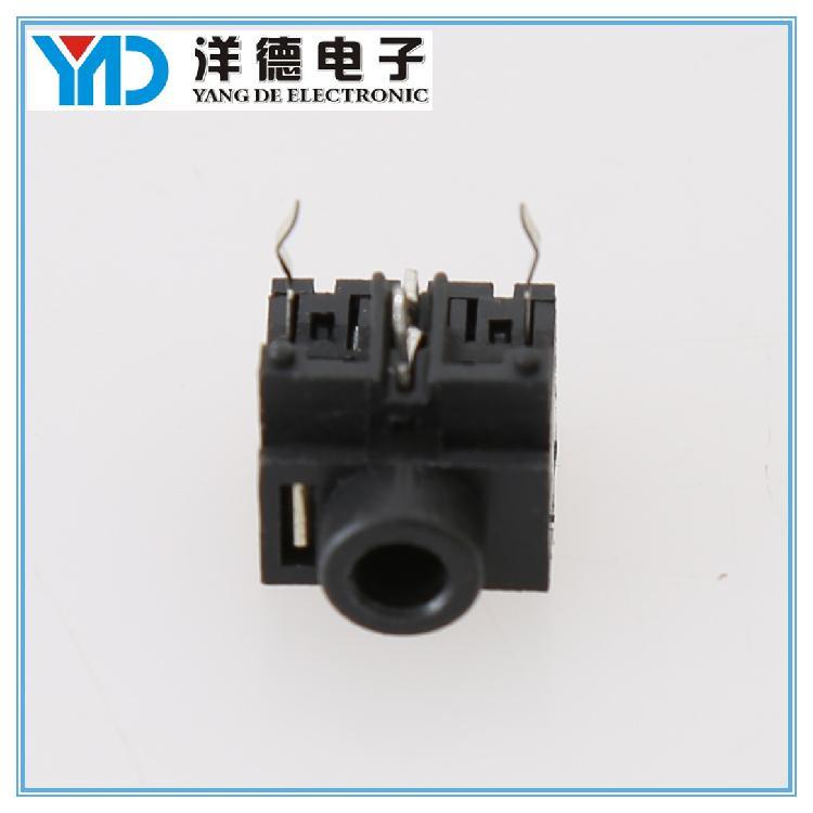 洋德电子供应pj306em音频母座 直销3.5mm插件 高质量