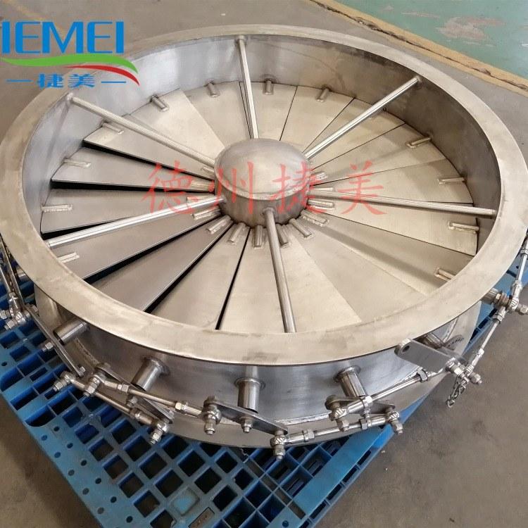 厂家供应不锈钢风机瓣式调节阀 不锈钢密闭阀捷美