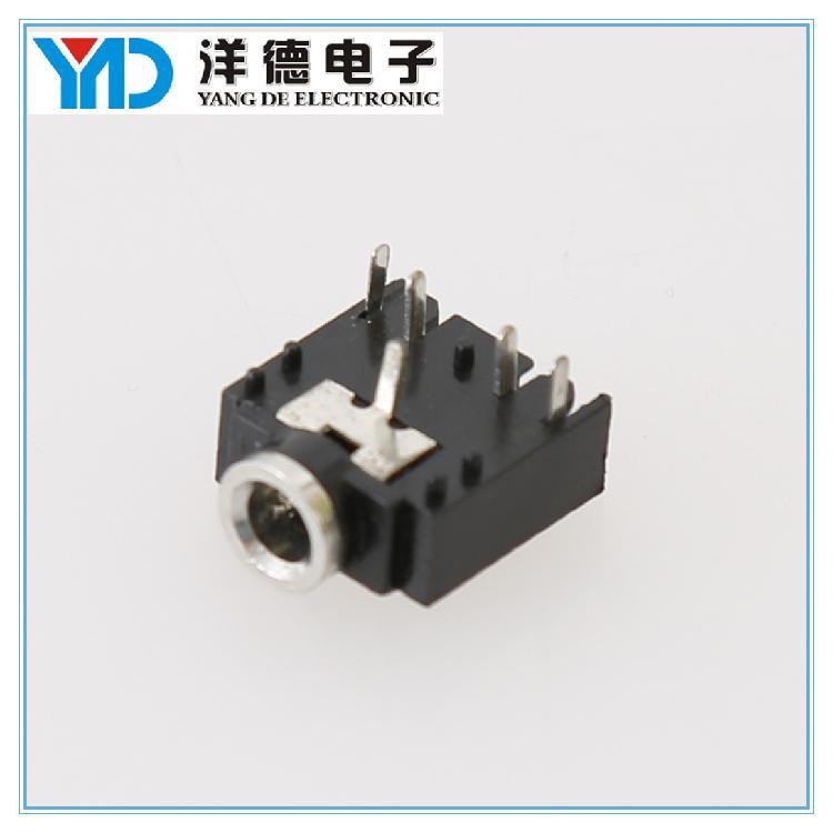 厂家供应音频母座 3.5耳机插件 加工定制