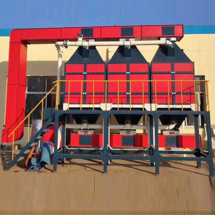 务实销售 催化燃烧设备 工业橡胶厂废气处理 工程用蓄热装置 化工厂催化燃烧 活性炭吸附脱附净化器