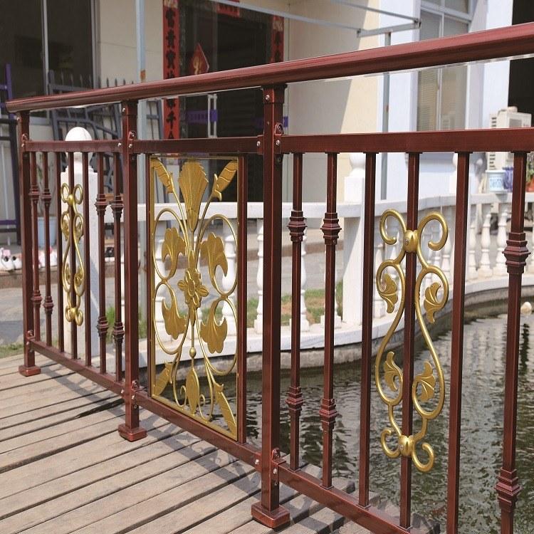 锌钢阳台护栏-锌钢栅栏露台围栏-室内户外锌钢阳台栏杆