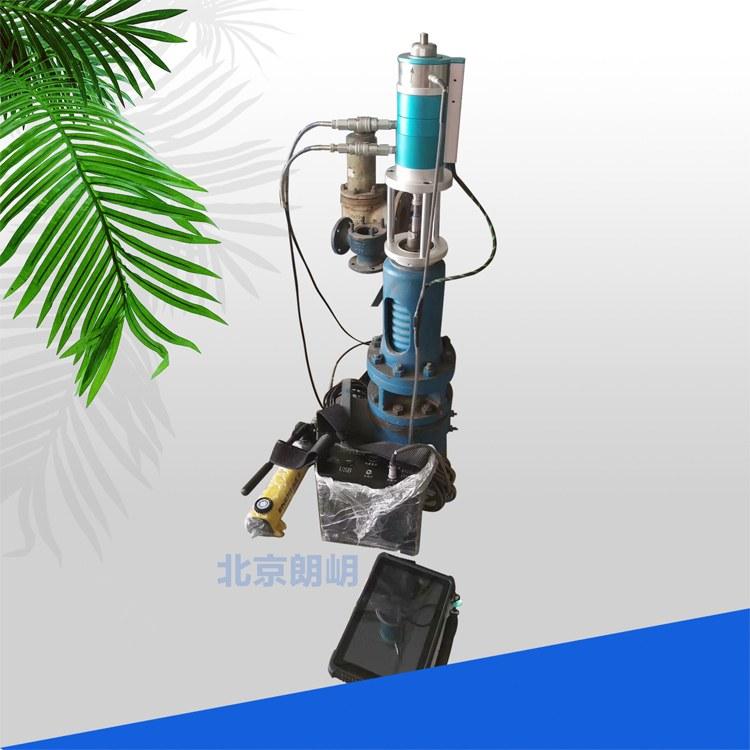 安全阀在线检测设备动态校验 检验仪专用压力传感器位移传感器1T3T5T北京朗岄生产