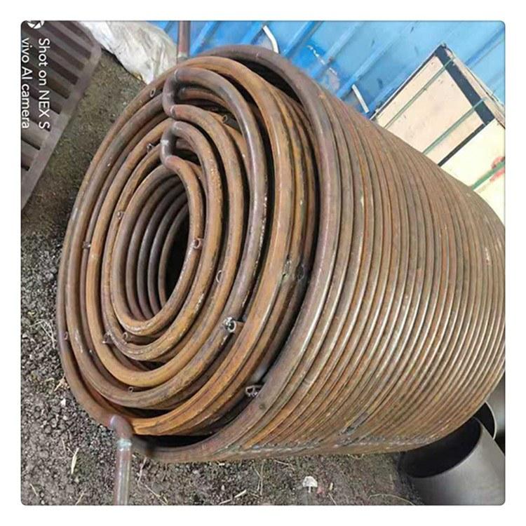 定做碳钢螺旋盘管 导热油用大型无缝盘管 厂家直销