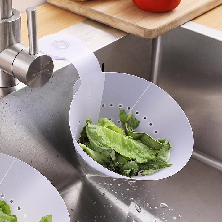 抖音家用廚房防堵干濕分離帶孔瀝水垃圾袋