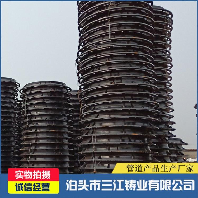 球墨铸铁井盖 厂家直销方形圆形铸铁井盖 球墨雨水篦子三江铸业