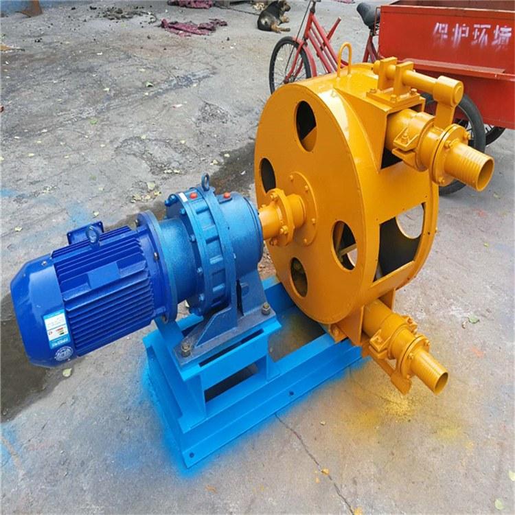 建筑软管泵 矿用挤压泵 软-管泵软管 挤压管 软-管更换方便无泄漏无轴封