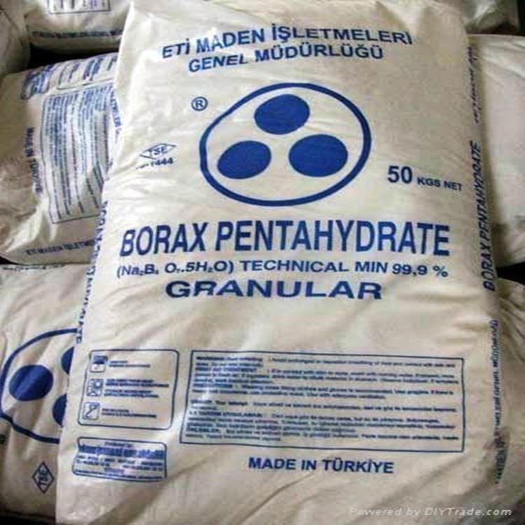 供应土耳其硼砂 五水硼砂 99%全国发货