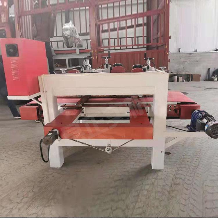 供应前后三刀切割瓷砖机 墙砖地板砖切割工具 正实三刀数控机械
