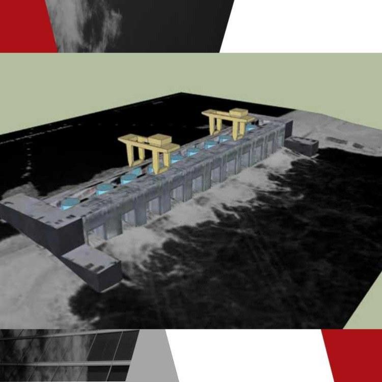 京测科技三维扫描技术应用于水改建大空间专业扫描