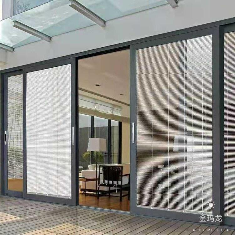 武汉阳台玻璃移门 重型推拉门 重型推拉门厂家直销 别墅酒店门