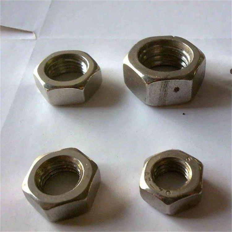 河北永年厂家批发不锈钢六角螺母 型号齐全