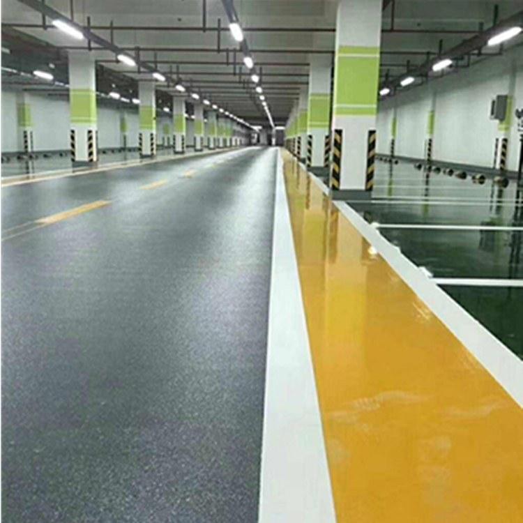 停车场环氧地坪 防滑地坪南京鑫光油漆专业施工