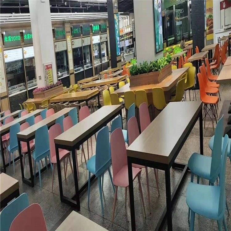 快餐桌椅 加工定制 种类材质齐全