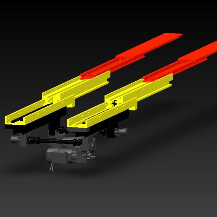 AFR 正菲+伸缩叉系列+双向自动双驱双深位伸缩叉