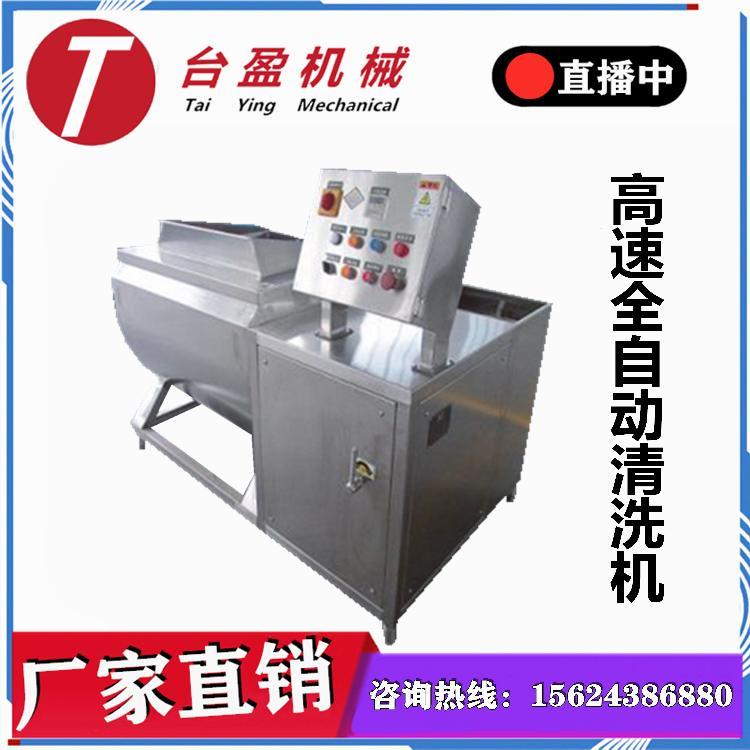 厂家直销 涡流洗菜机 生姜清洗去皮机 选台盈机械