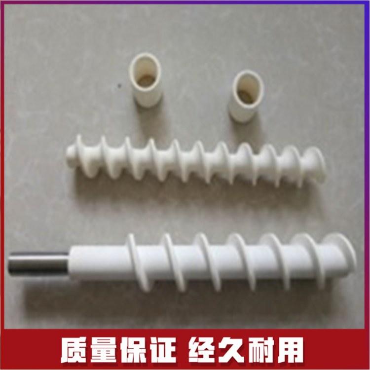 湖南德景源 陶瓷螺旋输送轴 陶瓷网纹辊生产厂家 快速报价