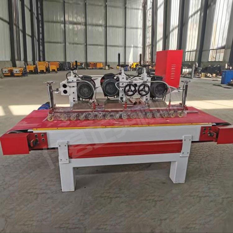 三刀数控切割机 全自动瓷砖修边设备 数控操作开槽磨边机