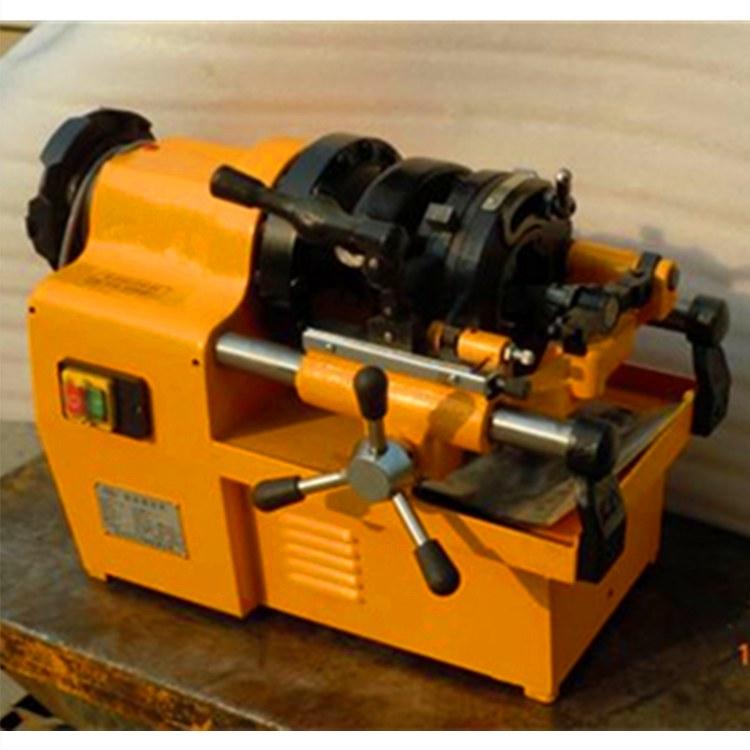 沪工牌电动切管套丝机 套丝切管机 台式套丝机