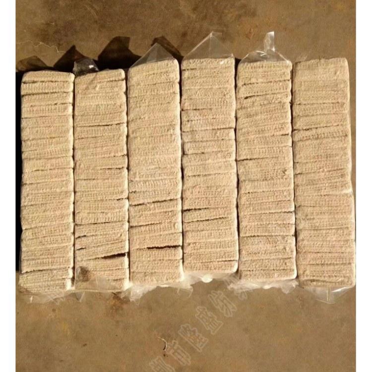 隆盛 白色全棉帆布清理块 帆布清理块面粉厂专用