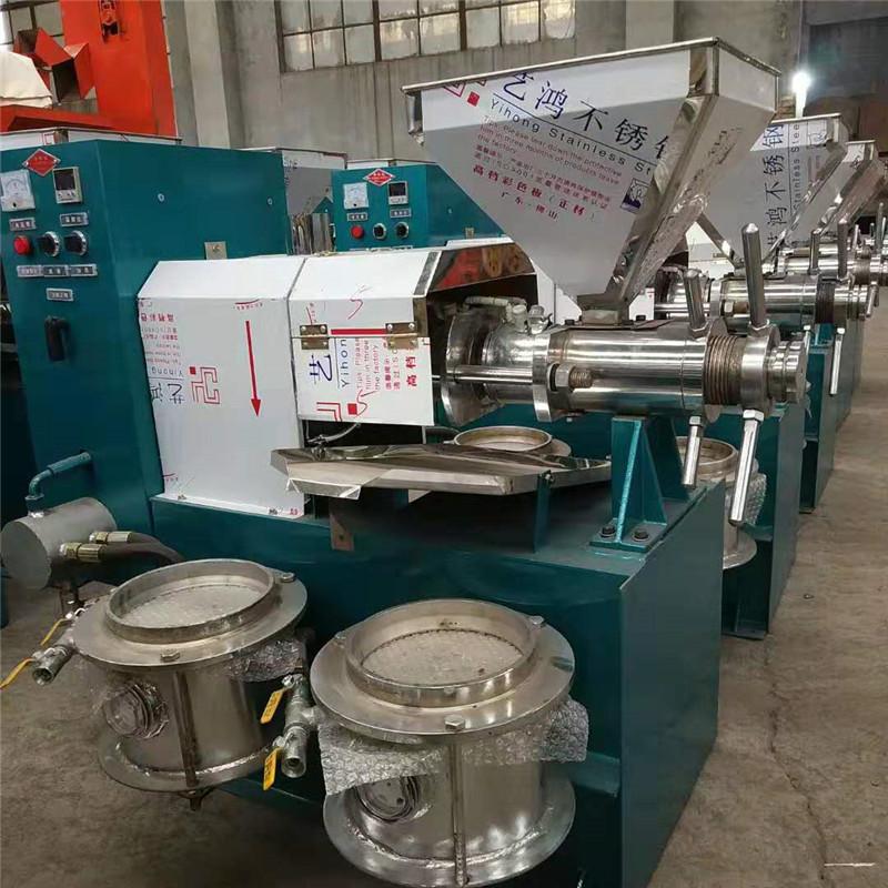 工厂直销 新型螺旋榨油机 小型流动性菜籽花生大豆螺旋榨油机 商用温控型山茶籽菜籽榨油机