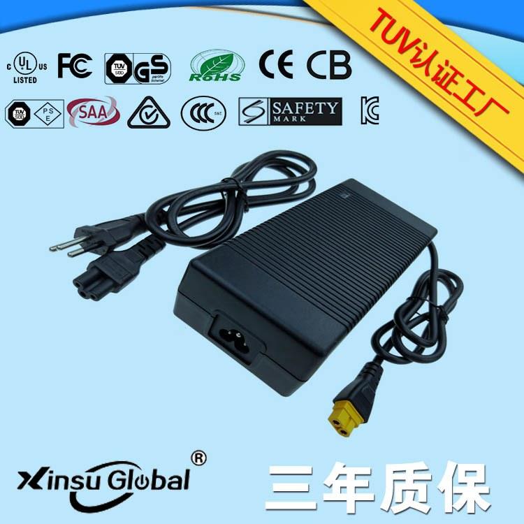 3C/PSE认证42V5A 210W桌面式电源适配器GB4943