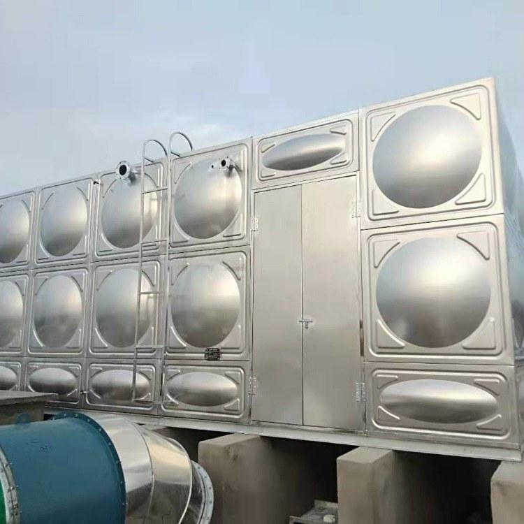 源塔直销304不锈钢水箱价格 地埋式不锈钢水箱 定制 厂家直销