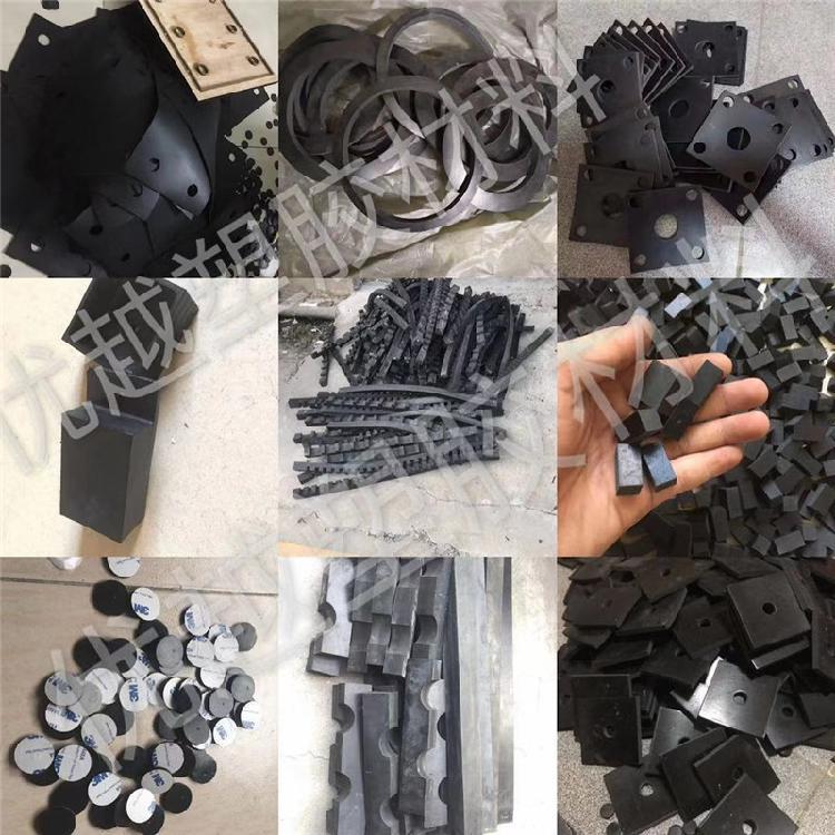 红色橡胶板 工业橡胶板 丁腈橡胶板批量加工