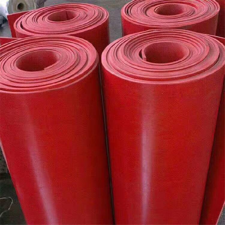 红色橡胶板 工业橡胶板 丁腈橡胶板任意零切尺寸