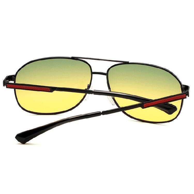 鋁鎂偏光太陽鏡男士日夜兩用墨鏡戶外運動司機鏡騎行駕駛眼鏡804