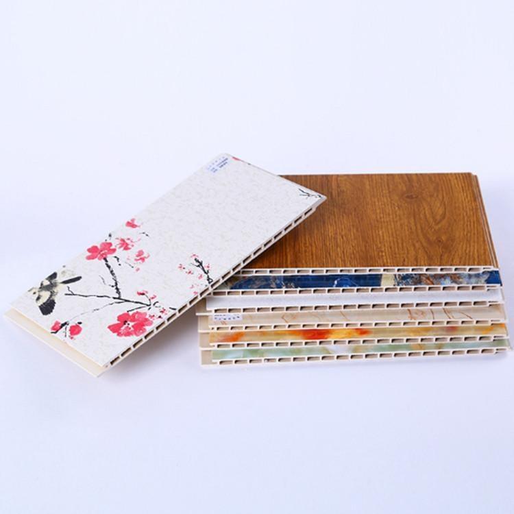 竹木纤维集成墙板 全国集成墙板供应地 包邮包运费临沂直发美女销售