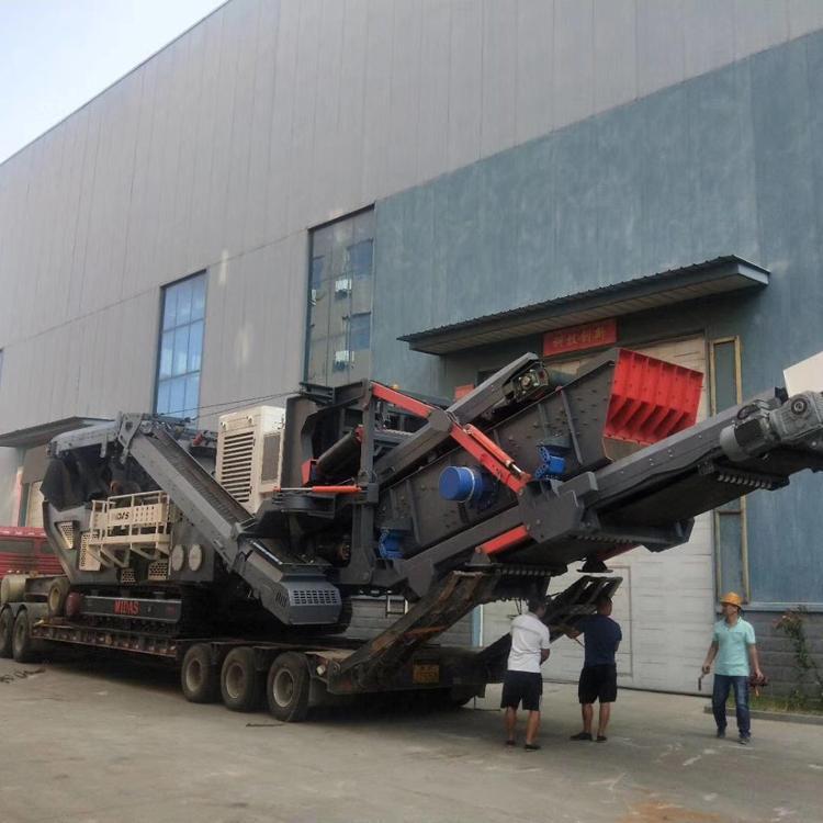 移动式制砂机 轮胎式移动制砂设备 巴德机械厂家直销