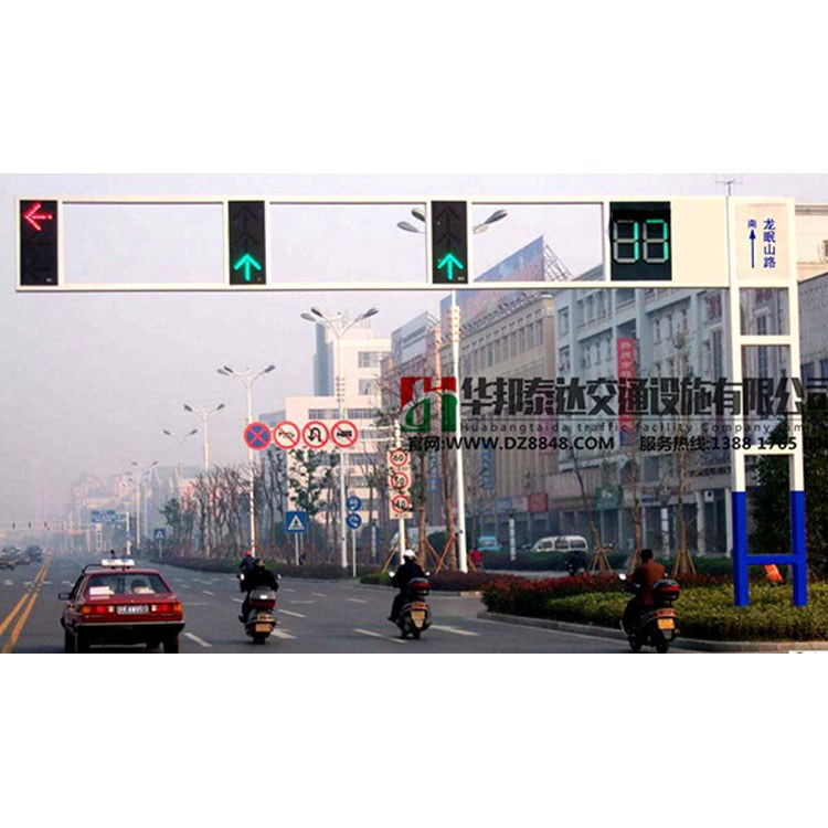 四川华邦泰达交通信号灯杆厂家直销 成都优质生产交通信号灯杆生产厂家