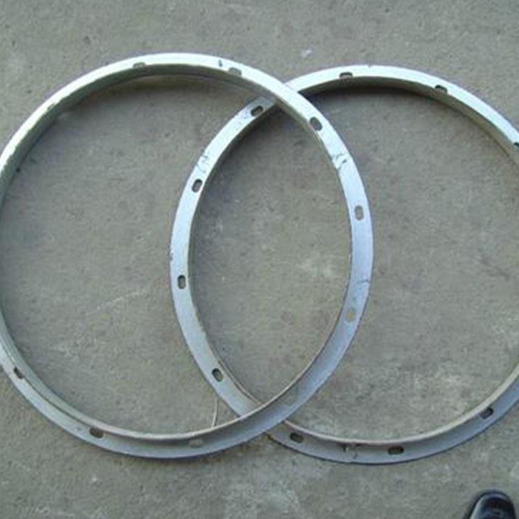 定制鍍鋅板扁鐵法蘭 角鋼角鐵方圓法蘭 不銹鋼通風管道鏈接法蘭