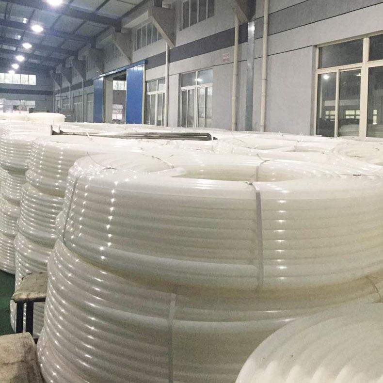 白色尼龙管 穿线管 白色塑料管 尼龙管厂家 尼龙管批发 上海德塑