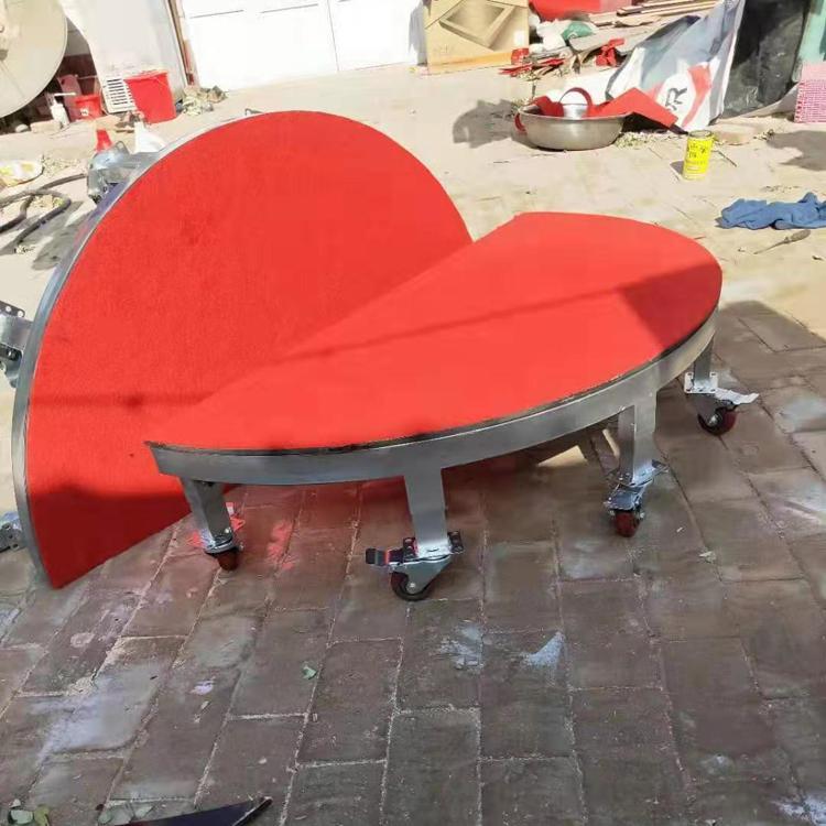 朝维 厂家直销雷亚钢铁折叠拼装 活动婚庆折叠大型酒店会场演出移动舞台