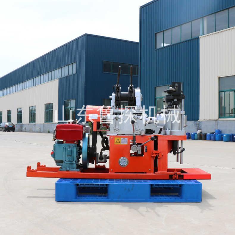 山东鲁探30勘察钻机 YQZ-30型全液压岩心钻机液压加压效率高