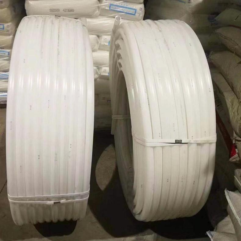 现货供应 尼龙管厂家 白色尼龙管 白色塑料管 穿线管盘管 上海德塑
