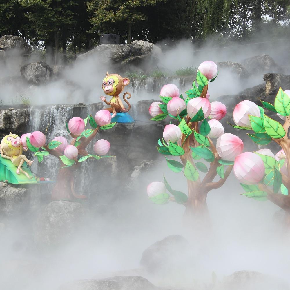 雾森价格-人造雾景观-雾喷系统
