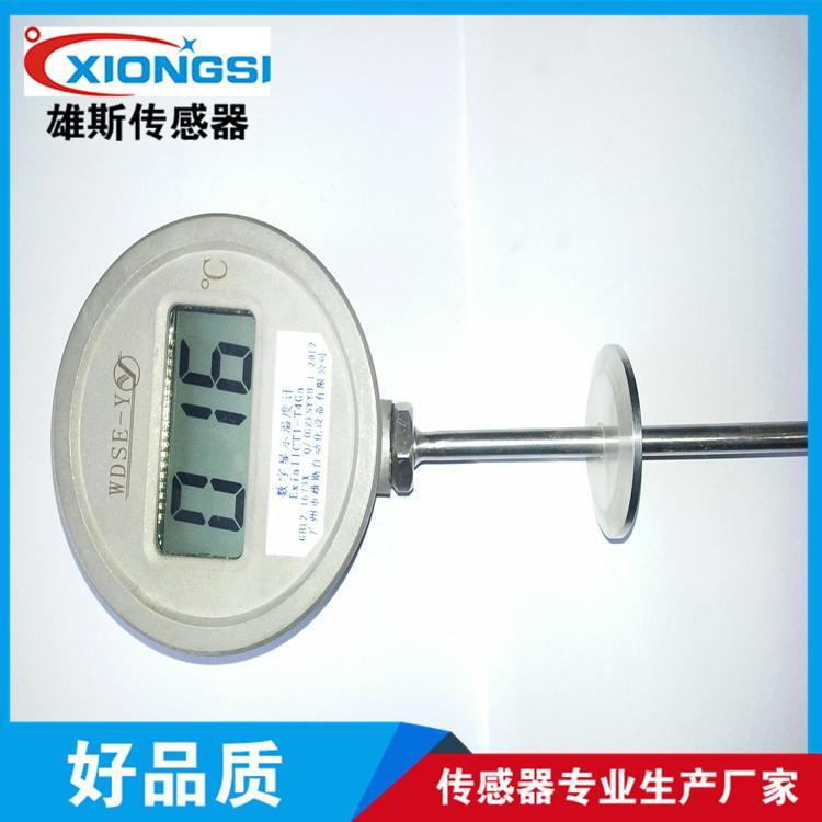 一体化数显卫生型热电阻 高温热电偶 温度传感器 IST进口薄膜元件
