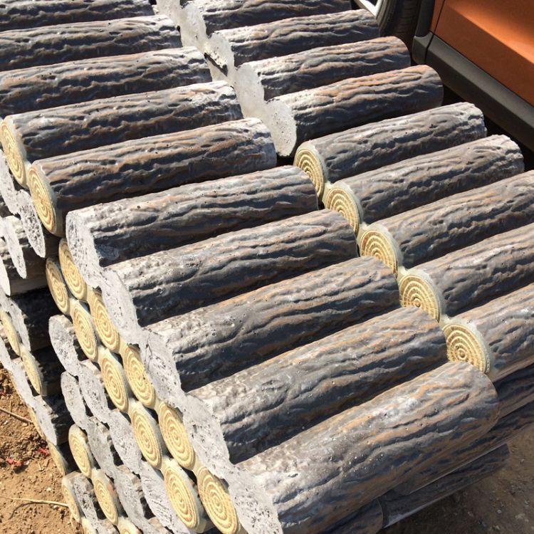 水泥仿木桩 实心仿木桩价格优惠 欢迎选购
