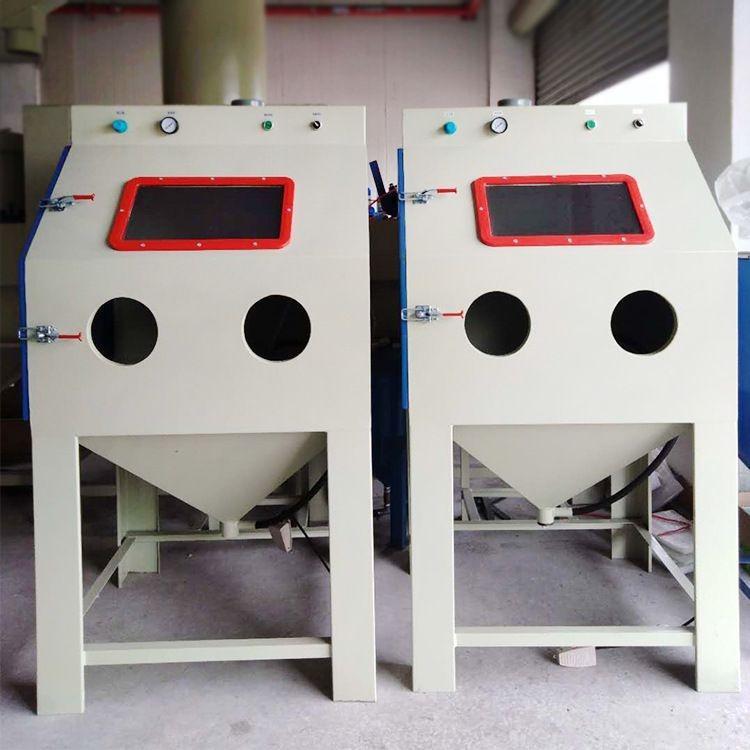 石材喷砂机 箱式1010手动喷砂机 厂家直销 玻璃喷砂机 价格有优惠 质量好 效率高