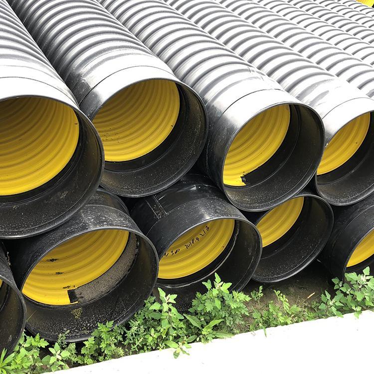 四川辉达管业 承插式钢带波纹管 HDPE钢带增强聚乙烯螺旋管