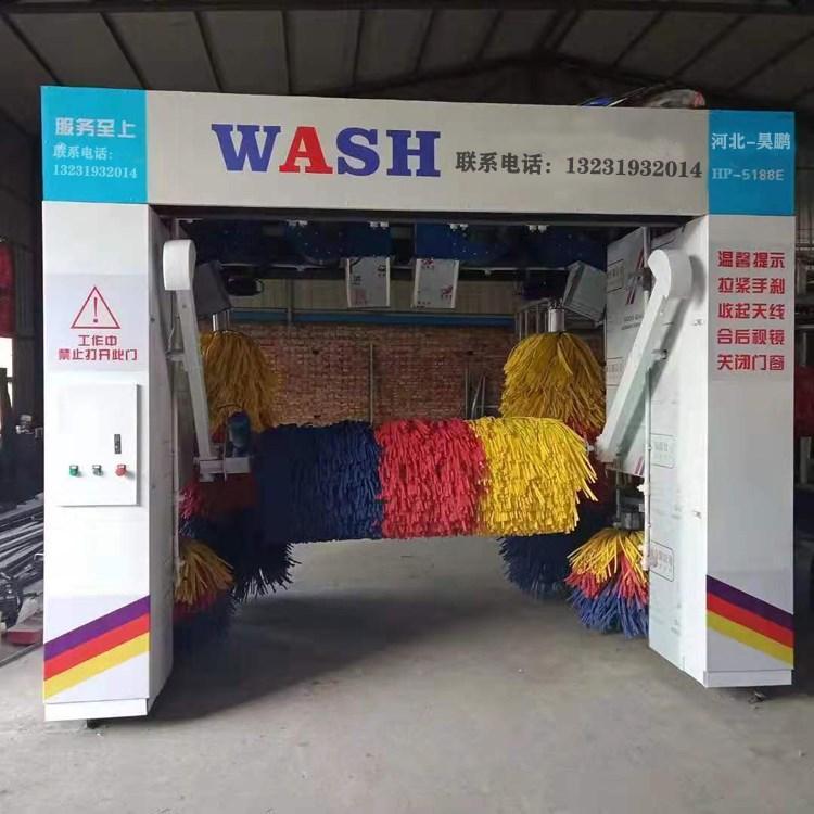 龙门往复式全自动洗车机自动化程度高