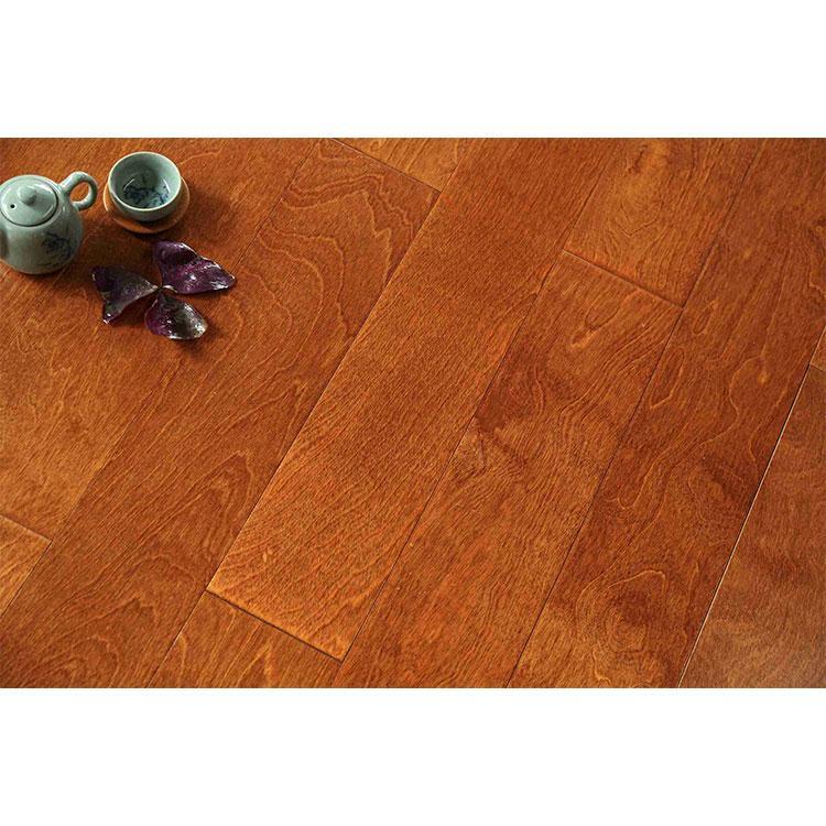 恒基专业生产桦木多层系列厂家直销 优质实木体育-卧室安装地板耐磨供应商