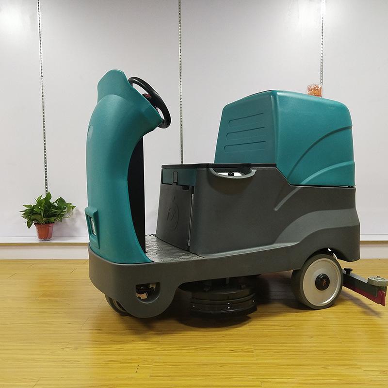 郑州驾驶式扫地机3刷大功率洗地机工业物业车间擦地