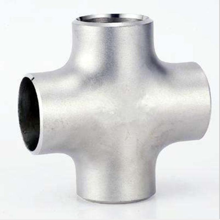 厂家直供无缝焊接304四通 冷冲压不锈钢 高耐压不锈钢四通 三通