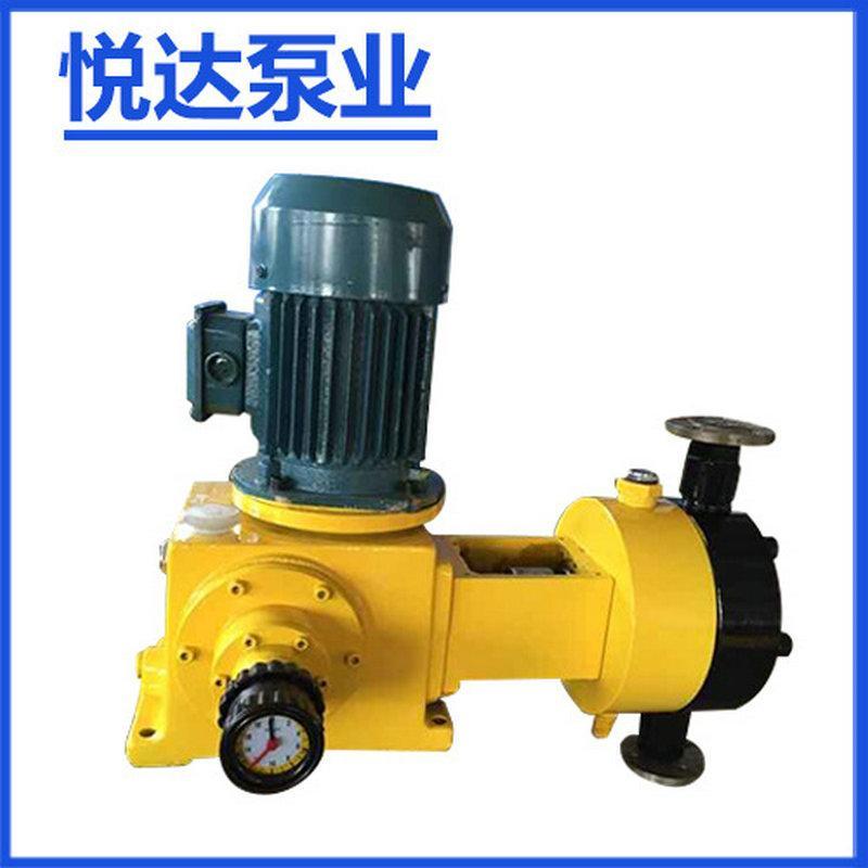悦达-J-Z1M高档优质液压隔膜计量泵 不锈钢电动变频计量泵