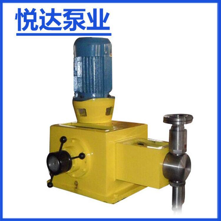悅達-高品質精品J-D柱塞式優質耐腐蝕計量泵